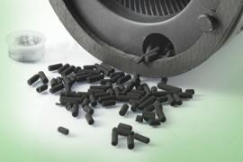 Cartucce cilindriche Figeva a carbone attivo per piastre
