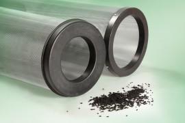 Cartucce cilindriche a carbone attivo per piastre made in Italy