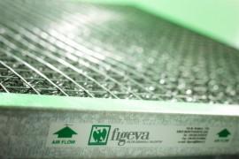 Figeva Filtri piani con all'interno multistrato di filo zincato