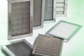 Filtri in acciaio inox AISI 304 realizzati con reti microstirate e con paglietta acciaio inox