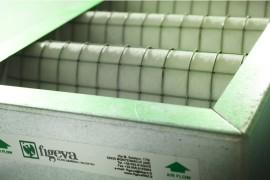 Filtri ondulati con filtrina bianca varie efficienze