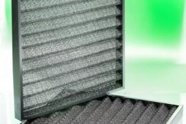 Filtri ondulati in calza d'alluminio o in multistrato di filo zincato