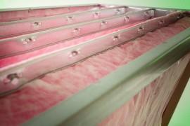 Filtro a tasche in fibra di vetro media efficienza produzione e vendita