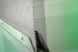 Filtro metallico per carbone attivo