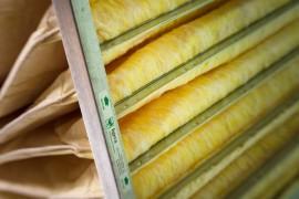 Produttore Filtro a tasche in fibra di vetro alta efficienza