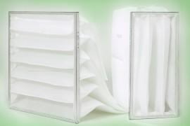 Produzione Filtri a tasche sintetiche