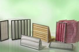 Produzione e vendita di Filtri a tasche per cabine di verniciatura